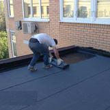 Рубероїдна покрівля даху
